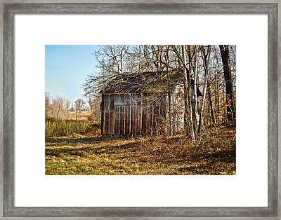 Secluded Barn Framed Print