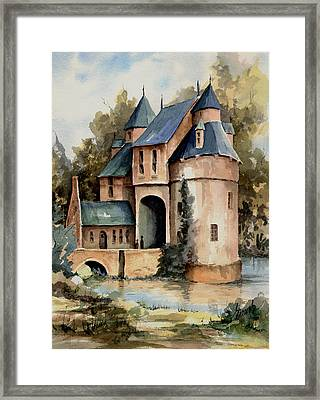 Secluded Castle Framed Print by Sam Sidders