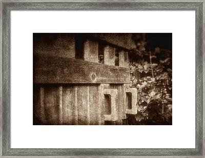Secluded Garden Framed Print