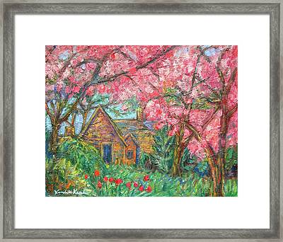 Secluded Home Framed Print by Kendall Kessler