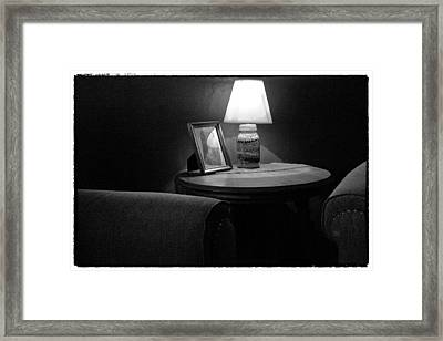 Secluded In Black And White Framed Print by David Patterson
