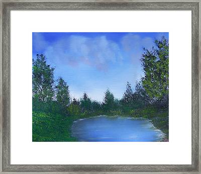 Secluded Paradise Framed Print by Jennifer Muller