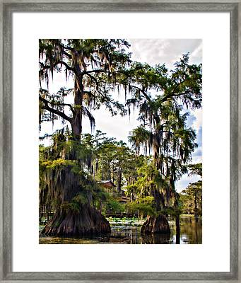 Secluded Retreat Framed Print by Lana Trussell