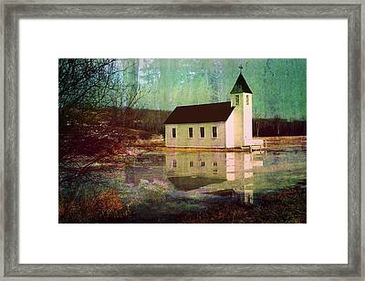 Secluded Sanctum  Framed Print by Shirley Sirois