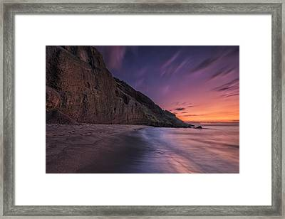 Framed Print featuring the photograph Secluded Sunset Maui by Hawaii  Fine Art Photography