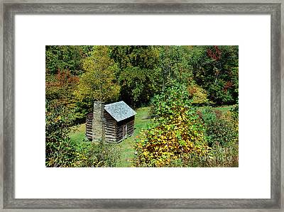 Seclusion Framed Print by Skip Willits