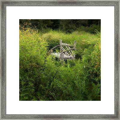Seclusion Square Framed Print