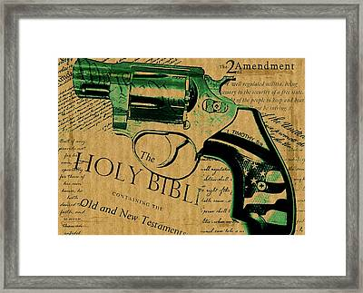 Second Amendment Framed Print by ABA Studio Designs