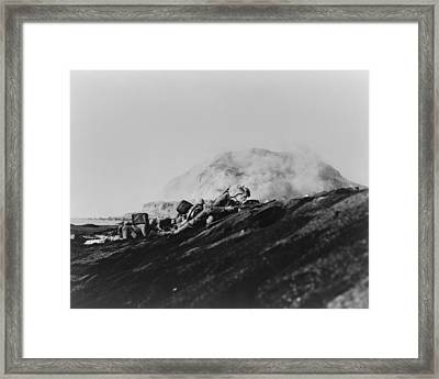 Second Battalion, Twenty-seventh Framed Print