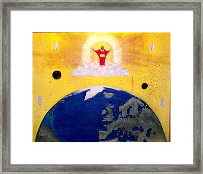Second Coming Of Jesus Framed Print