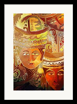 Thai Art Framed Prints