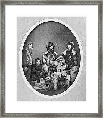 Second Grinnell Expedition Framed Print by Us National Archives