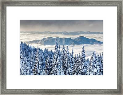 Second Level Framed Print by Evgeni Dinev