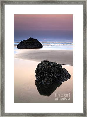 Second Rock From The Sun Framed Print by Mike  Dawson