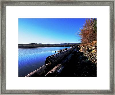 Second Shoreline Framed Print by Will Boutin Photos