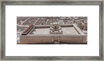 Second Temple Framed Print