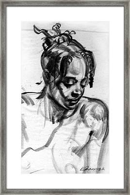 Second Thoughts Framed Print by Karl Gnass