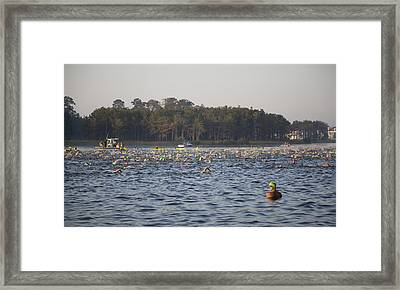 Second Throughts Framed Print