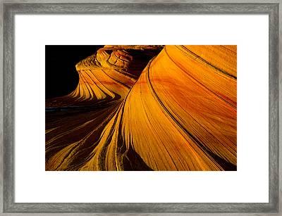 Second Wave Framed Print