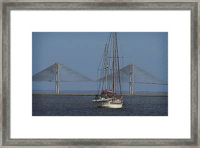 Framed Print featuring the photograph Second Wind by Laura Ragland