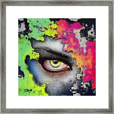 Secret Admirer  Framed Print by Anthony Mwangi