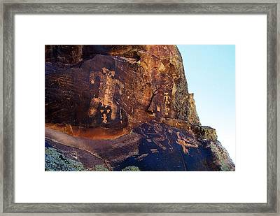 Secret Canyon Mother Framed Print