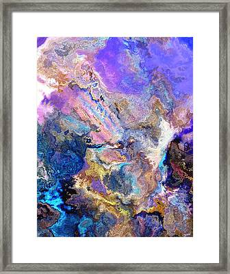 Secret Country Framed Print by Jury Onyxman