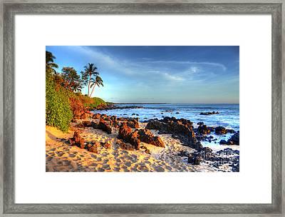 Secret Cove  Framed Print by Kelly Wade