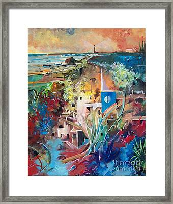 Secret Cove Framed Print by Sinisa Saratlic