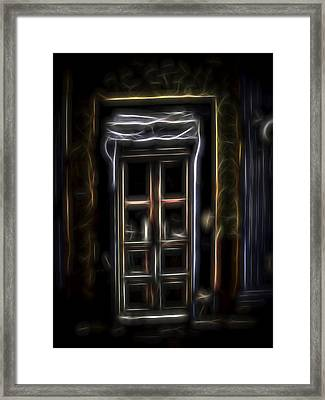 Secret Doorway Framed Print by William Horden