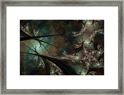 Secret Forest Framed Print
