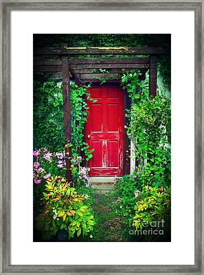 Secret Garden Framed Print by Heidi Hermes