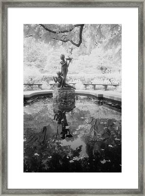 Secret Garden Ir Framed Print