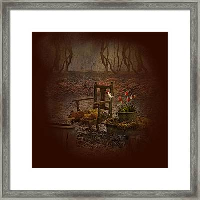 Secret Garden Framed Print by Jeff Burgess