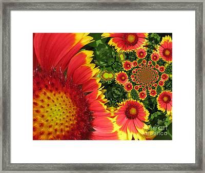 Secret Garden Framed Print by Maria Watt