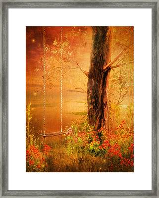 Secret Gardens Fantasy Framed Print