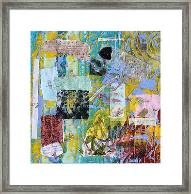 Secret Language Framed Print