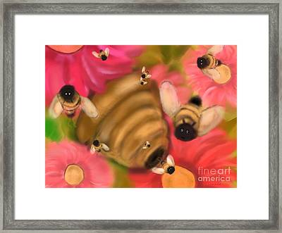 Secret Life Of Bees Framed Print