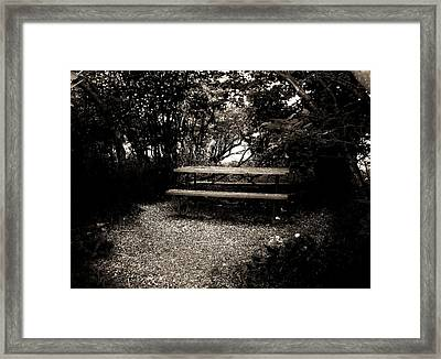 Secret Meeting Place Framed Print by Bridget Johnson