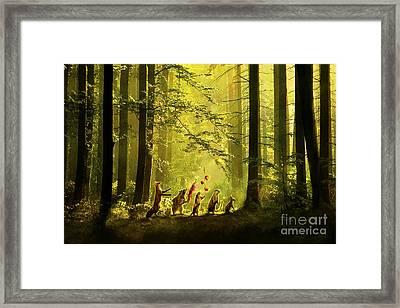 Secret Parade Framed Print by Aimee Stewart