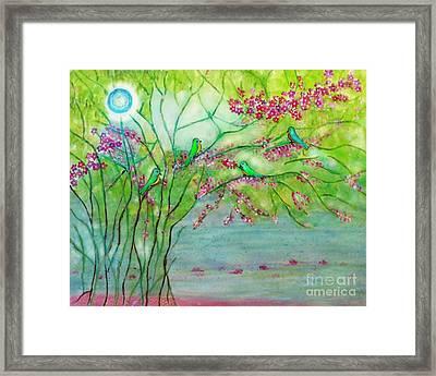 Secret Paradise Inner Bliss Framed Print by Anjali Vaidya