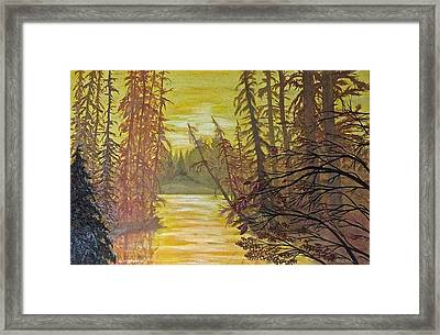 Secret Passage Framed Print