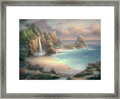 Secret Place Framed Print by Chuck Pinson