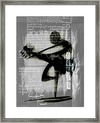Secret Songs Framed Print by Georgiana Romanovna