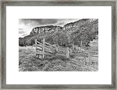 Secret Valley Framed Print by David Benson