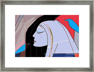 Secret Framed Print by Vilas Malankar