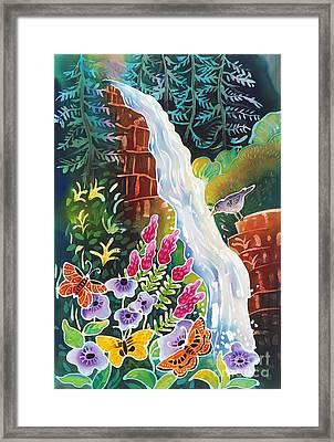 Secret Waterfall Framed Print by Harriet Peck Taylor
