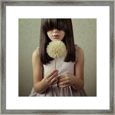 Secret Wishes Framed Print