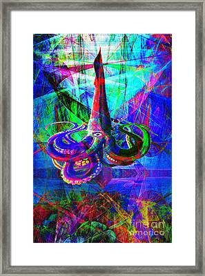 Secret World Of The Giant Squid 20140129 Framed Print by Wingsdomain Art and Photography