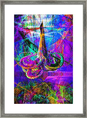 Secret World Of The Giant Squid 20140129p38 Framed Print by Wingsdomain Art and Photography